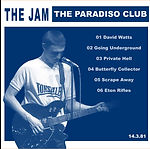 The Jam 14/03/81 - Paradiso Club - Amsterdam