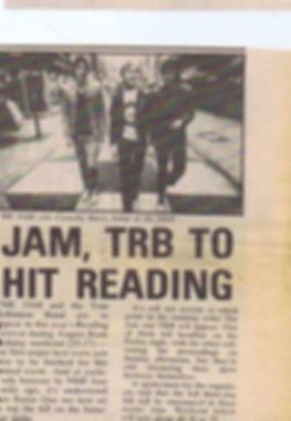 The Jam Reading
