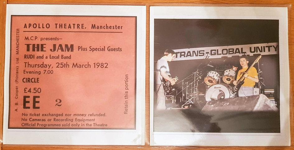 The Jam Manchester Apollo 25/3/82