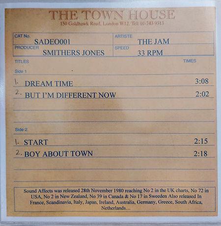 The Jam Sound Affects Demos EP