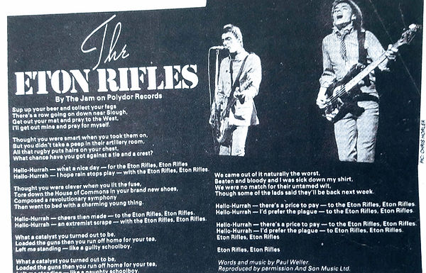 The Jam Eton Rifles