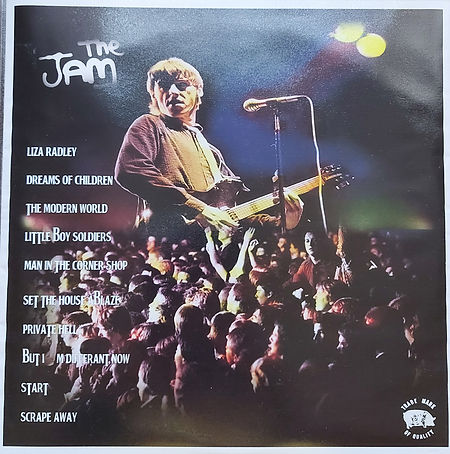 The Jam Live 1/12/80 Utrecht