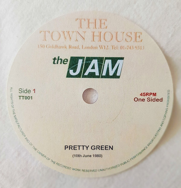 There is also a 1 sided version with just Pretty Green.