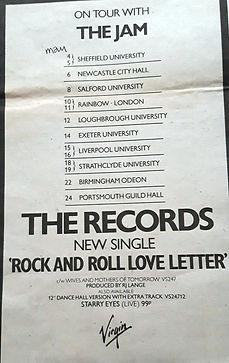 Jam Tour Advert