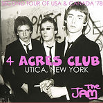 The Jam 20/03/78 - Four Acres Club - Utica