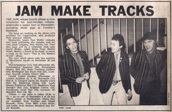 Jam make tracks