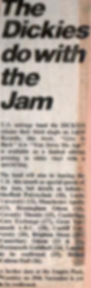 The Jam The Dickies