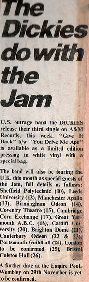 The Jam The Dickies