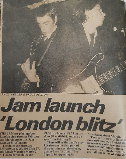 The Jam London Blitz