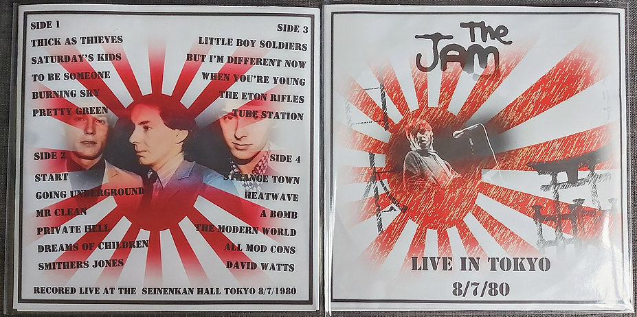 The Jam live in Tokyo 1980