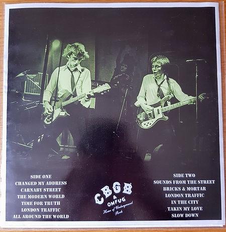 The Jam live at CBGB 1977