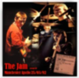 The Jam Manchester Apollo EP 25/3/82