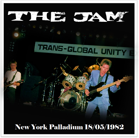The Jam New York Palladium 18/5/82