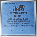 The Jam Bingley Hall 21/03/82