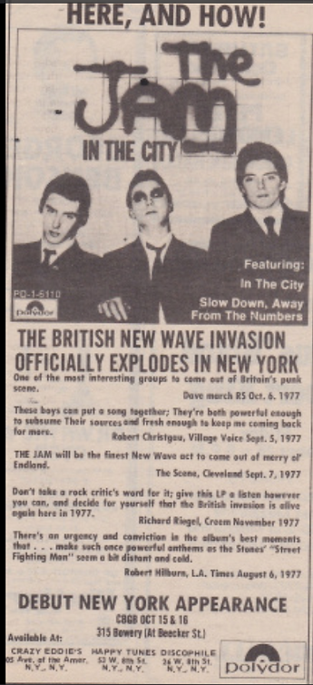 The Jam New York