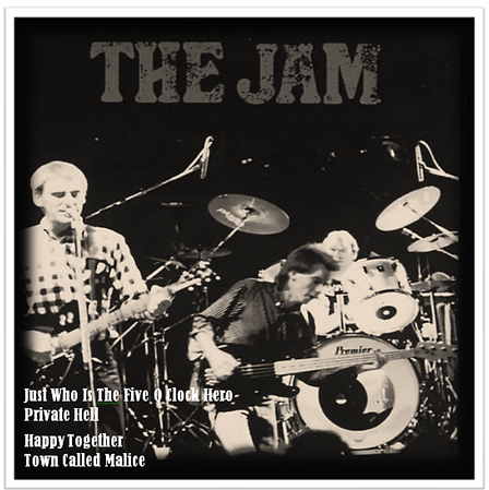 The Jam Manchester Apollo EP 25/3/82