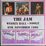 Wessex Hall Poole 9/11/80