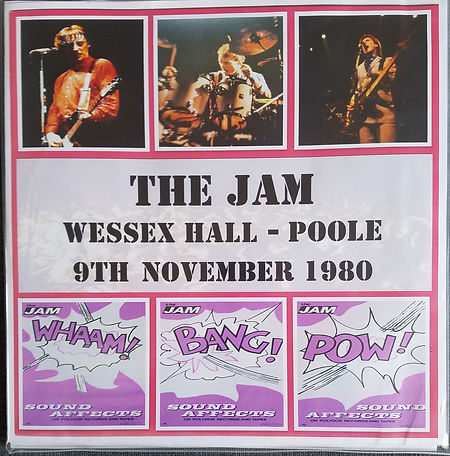 The Jam Wessex Hall Poole 9/11/80