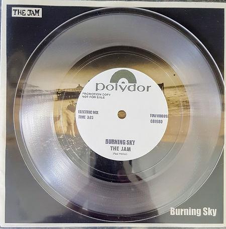 The Jam Burning Sky Acustic & Electric demos