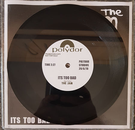 The Jam Fly / Its Too Bad DEMOS