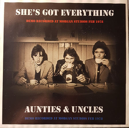 The Jam Shes Got Everything / Aunties and Uncles