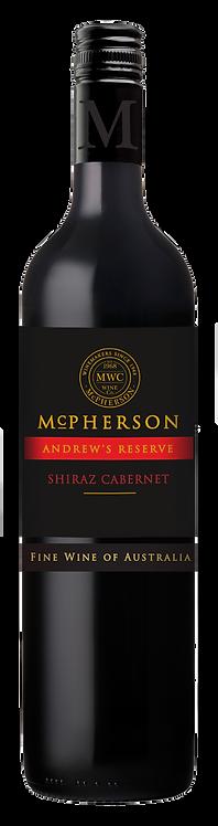 Mcpherson Andrew's Reserve Shiraz Cabernet