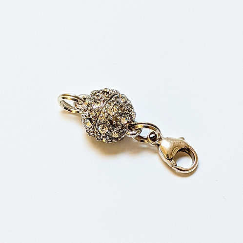 Crystal Ball Magnetic Clasp
