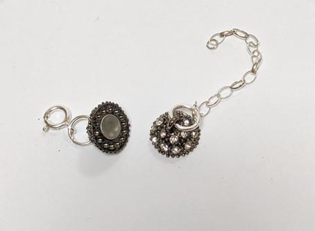 Magnetic Jewellery (Jewelry) Clasps