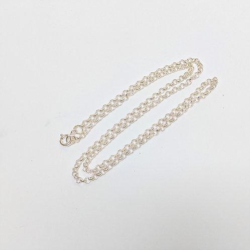 Belcher Round Link Chain Sterling Silver