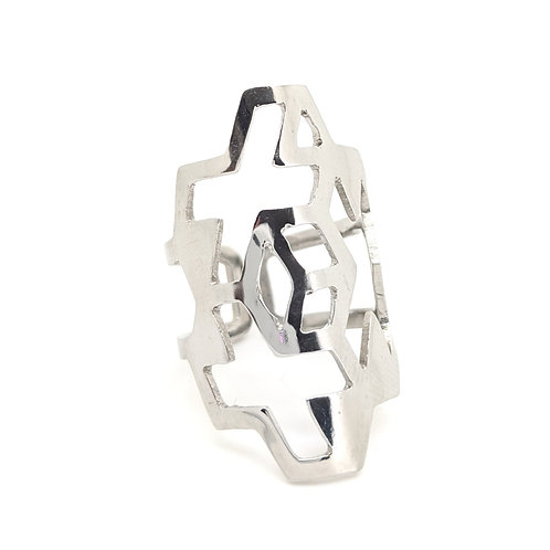 adjustable stainless steel ring