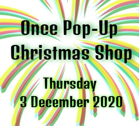 The Once Pop Up Christmas Shop Ticket