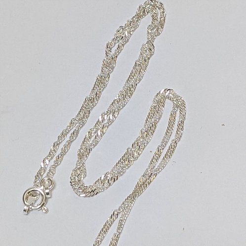 Singapore Chain Sterling Silver