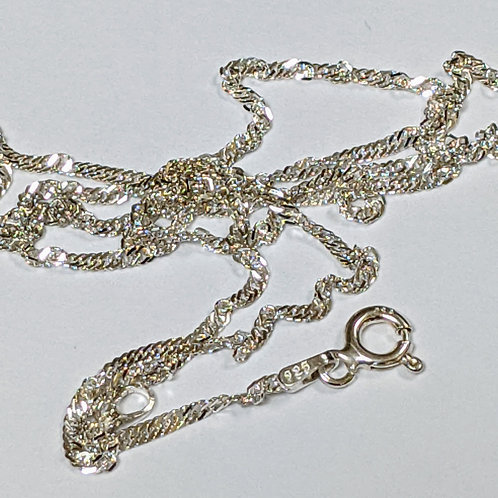 Spiga Chain Sterling Silver