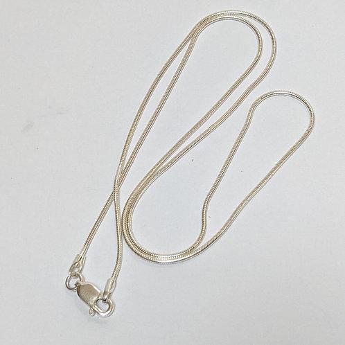 Snake Chain Sterling Silver - Light