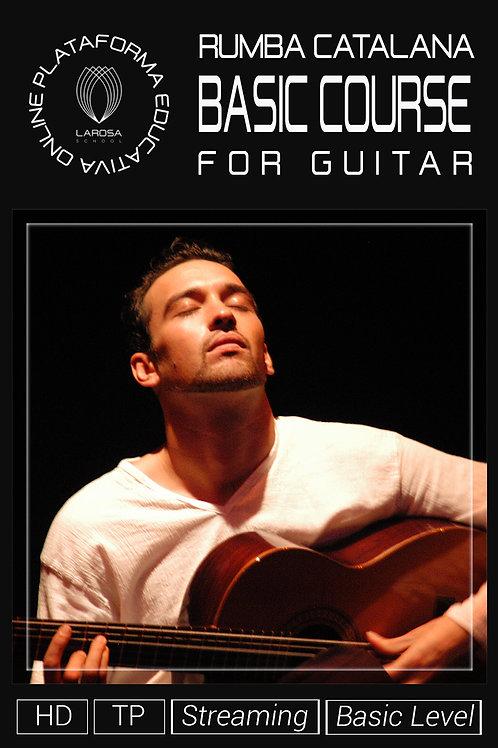 DVD4 - LA RUMBA CATALANA FOR GUITAR. BASIC LEVEL