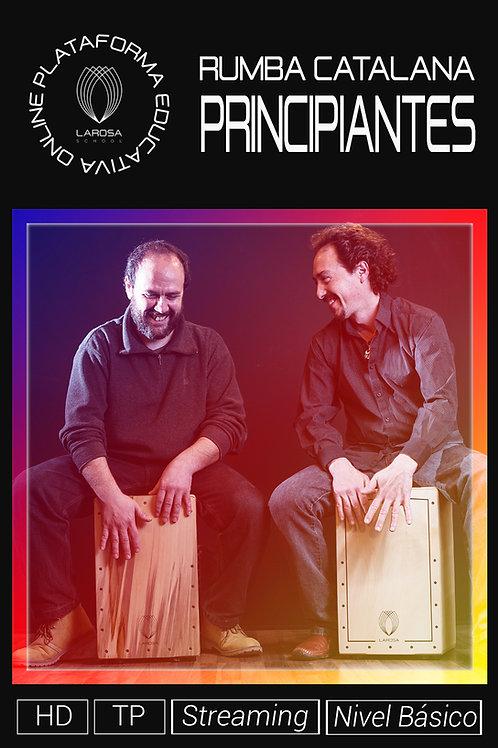 DVD 2.- La Rumba Catalana. Principiantes