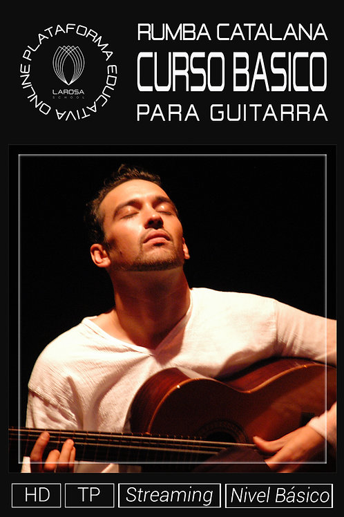 DVD 4.- La Rumba Catalana para Guitarra. Nivel Básico
