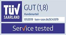 Prüfzeichen_Sonnenklar_TÜV_Service_tes