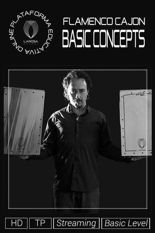 DVD1 - Flamenco Cajon. Basic Concepts