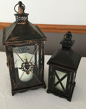 Brown Glass Lanterns.JPG