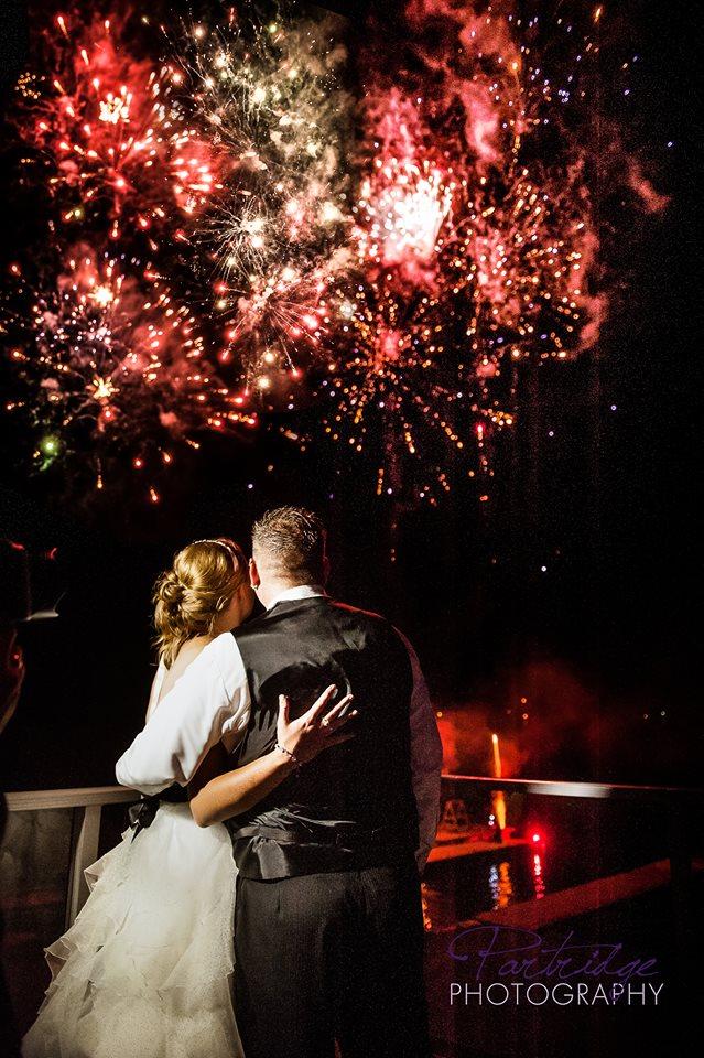 First Dance Fireworks