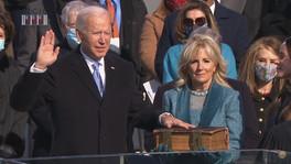 Toma protesta Joe Biden como presidente número 46 de Estados Unidos.