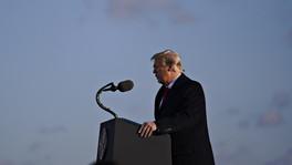 """""""Nos veremos pronto"""", últimas palabras de Trump como presidente de EE.UU."""