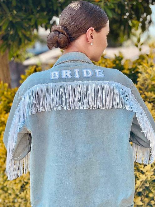 Fringe Bride Denim Jacket
