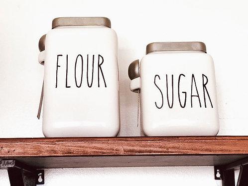 Kitchen Jar Set