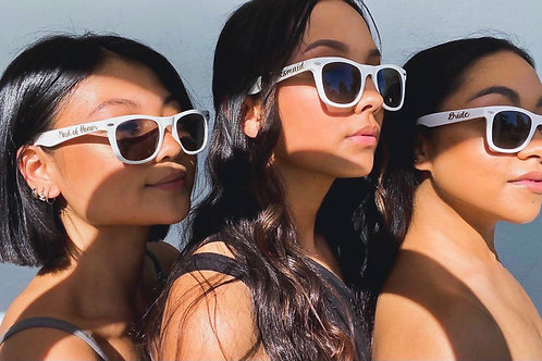 Wedding party sunglasses