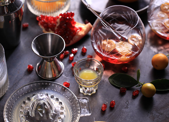 Pomegranate Ginger Moscow Mule