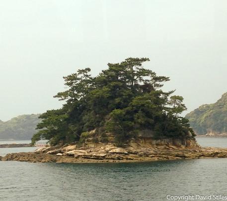 Small Island Sasabo, Japan