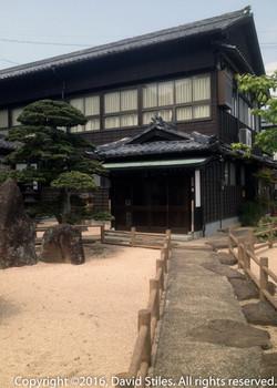 Buddhist Temple Entrance