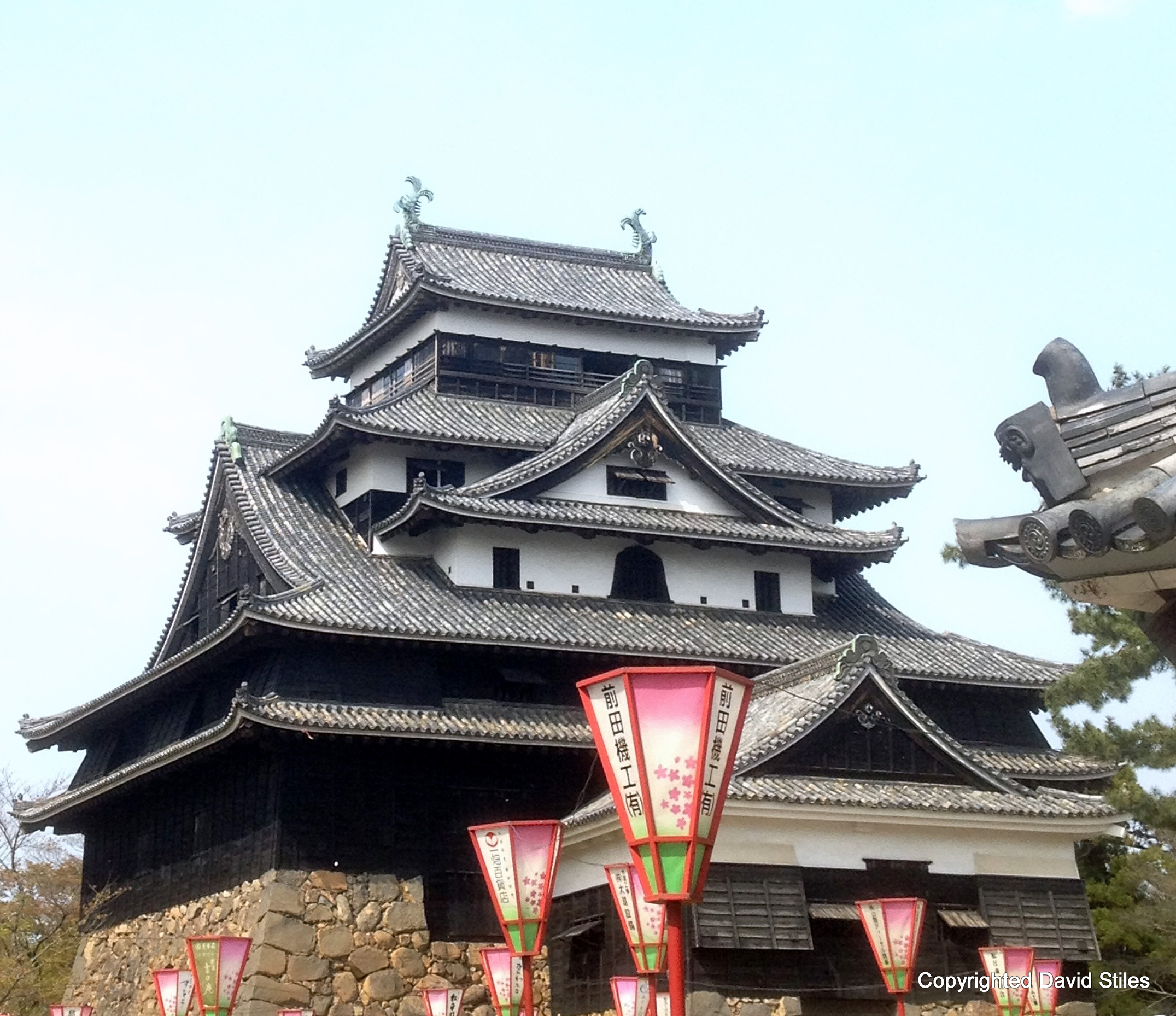 Matsue Castle in Shimane Prefecture